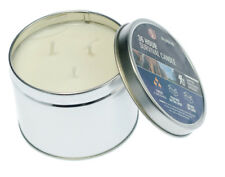 Emergency Survival Candle in a Tin 36 Hours 3 Wicks 12 Hrs Each