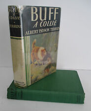 BUFF A Collie by Albert Payson Terhune circa 1940 in DJ