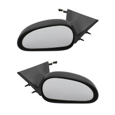 Pair Set Power Side View Mirrors for 99-04 Ford Mustang GT Mach I Base Bullitt