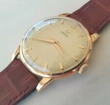 OMEGA Ω 1959 manual cal.284 central sweep 2895-1 pink gold 18kt oro 750 rosa