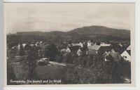 (73535) Foto AK Gumperda, Ortsansicht mit Schloss und Kirche, vor 1945