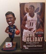Jrue Holiday New Orleans Pelicans SGA NIB Bobblehead, UCLA, 76ers NBA