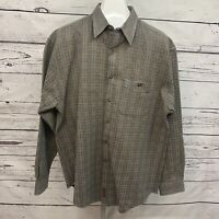 The Territory Ahead Sz XL long-sleeve mens Button Down Shirt Cotton  Aztec