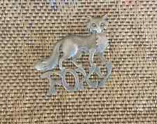 GREAT FUN JEWELRY 1 SEXY FOXY PEWTER PIN FOR THE BIKER GIRLS ALL NEW