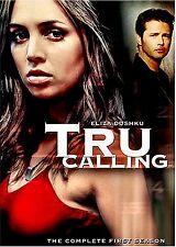 NEW 6DVD SET // TRU CALLING - SEASON 1 - Eliza Dushku, Shawn Reaves, Zach Galifi