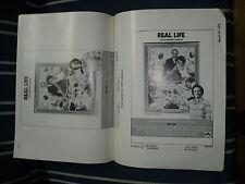 REAL LIFE, orig uncut 8pg ad campaign [Albert Brooks, Charles Grodin] - 1979