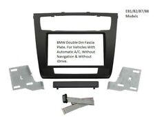 CT23BM05 BMW 1 SERIES 2007 ONWARDS DOUBLE DIN FASCIA FACIA FITTING ADAPTOR KIT