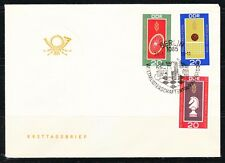 Germany DDR 1969 FDC cover Mi Sc 1491-1493 Chess,Volleyball,Bycycling