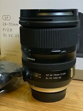 Tamron SP 24-70mm f/2.8 Di VC USD G2 Lens for NIKON, TAP-in Console included