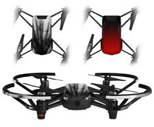 Skins 2X for DJI Tello Drone Lightning Black DRONE NOT INCLUDED
