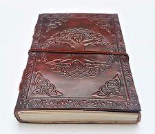 Fair Trade Handmade Leather Journal. Tree of Life Journal. Notebook, Sketchbook.