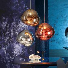 Irregular Glass Ball Mirror Ceiling Pendant Light Dining Room Hanging Lamp Decor