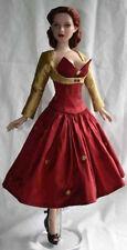"Dress & Bolero Doll Clothes Sewing Pattern 17"" Ahtletic DeDe & DeeAnna Tonner"