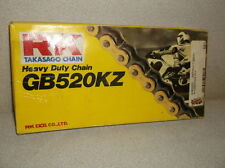 RK 520KZ-6 Gold 88 Link Chain for up to 600cc Street Bikes and 250cc Dirt Bikes