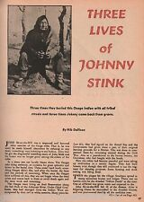 Osage Indian Johnny Sit On The Hill*- Three Lives+Chief Bacon Rind*,Dallison