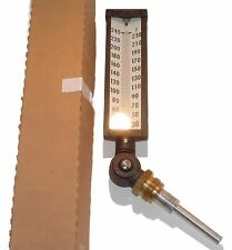 """LOT of 10 (TEN) """"WEISS"""" 7"""" #A7VS35 INDUSTRIAL THERMOMETERS"""