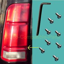 Land Rover Discovery 2 Stainless Steel Rear Lens Security Screw Kit