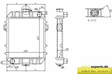 Kühler OPEL KADETT C 1.2 S
