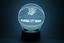 Oklahoma City Thunder OKC Russell Westbrook Paul George LED Lamp NBA Playoffs