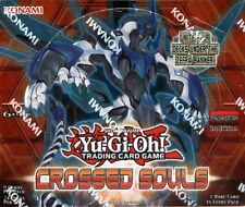 YUGIOH CROSSED SOULS 1ST EDITION BOOSTER 12 BOX CASE BLOWOUT CARDS