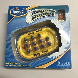 Raging Rapids Brainteaser Puzzle 8 To Adult