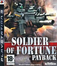 SONY PS3  SOLDIER OF FORTUNE PAYBACK