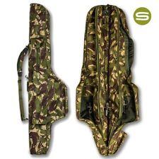 Saber DPM Camo 12ft 5 Rod Sleeve Holdall Padded Carp Fishing Rod Bag