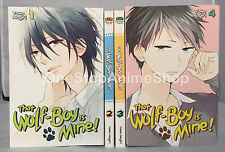 That Wolf-Boy is Mine! Volumes 1-4 english paperback new complete