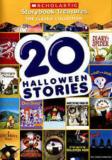 DVD 20 Halloween Stories Scholastic Storybook Treasures NEW