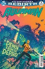 AQUAMAN #9 VARIANT COVER DC COMIC BOOK OCT 2016 REBIRTH 1