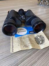 Carl Zeiss Jena Jenoptem 10x50 W Binoculars With Strap & Leather Case