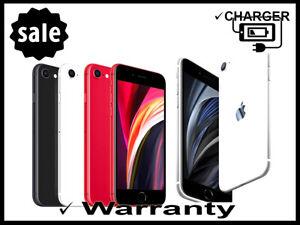 iPHONE SE 2020 Factory UNLOCKED 64GB Sprint AT&T T-MOBILE Verizon Open Box