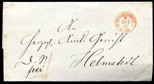 BRAUNSCHWEIG 1873 FRANCO BRIEF nach HELMSTEDT(C1162