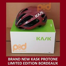 Kask Protone Road Helmet BORDEAUX Ltd Edition Medium 52-58 cm CHE00037.278 red
