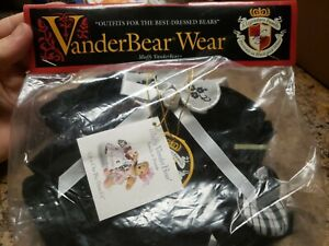 Muffy Vanderbear Outfit Legendary Family New Black White  Dress Shoes 1996