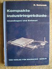 Kompakte Industriegebäude - Grundlagen und Entwurf DDR Fachbuch Industrie Lager
