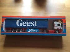 Tekno Geest DAF Container Lorry Model - Scale 1 : 50.   New in box