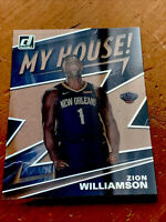 2019-20 Donruss Clearly My House Zion Williamson RC Rookie Acetate #7