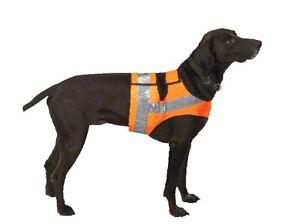 Hunde- Jagdweste , Signalweste, Warnweste - Hund, Hunde - Reflektorweste - Jagd