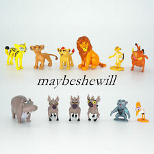 12Stück Der König der Löwen Neu PVC 5cm Figur Kinderspielzeug Simba Timon Pumbaa
