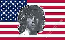 USA JIM MORRISON FLAG - 5x3 Feet - THE DOORS, SINGER