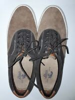 BASS Sneakers Men's 10  Brown & Tan Corduroy and Suede