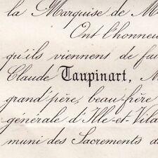 Pierre Claude Taupinart De Tiliere Rennes 1871 Rouen