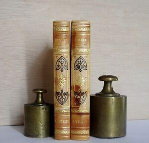 "HOMERE, ""L'ILIADE"" et ""L'ODYSEE"", 2 tomes, éditions GARNIER Prestige"