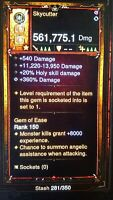 Diablo 3 RoS PS4 Softocre PRIMAL Modded Weapon - Skycutter