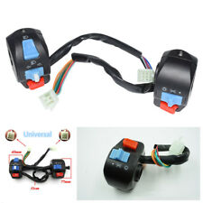 "Pair 7/8"" Motorcycle Horn Turn Signal Electric Start Handlebar Controller Switch"