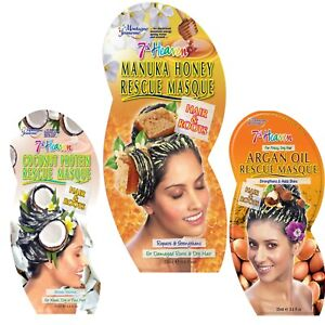 7th Heaven Hair/Root Mask - Adds Shine Strengthens Conditions & Moisturises