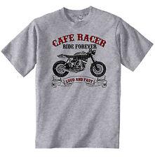 VINTAGE MOTO GIAPPONESI HONDA CRF 450X CAFE RACER-Nuovo T-shirt di cotone