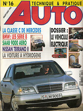 "REVUE MAGAZINE AUTOMOBILE "" AUTO TECHNIQUE ET PRATIQUE "" N°16 BMW SAAB 9000 AERO"