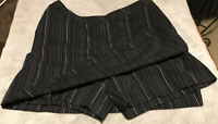 Ashworth Black Women's Sz 6 Skort Athletic Golf Tennis Shorts Skirt - Xlnt Cond!